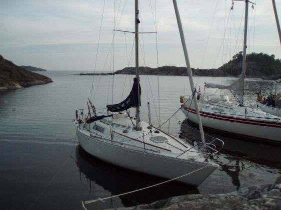 Scampin Josefin, där våra gemensamma seglingsäventyr började