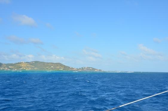 Union Island på avstånd