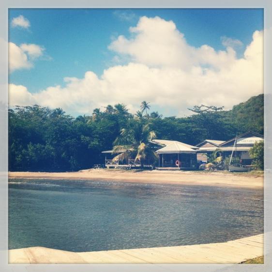 Grenada Marine restaurang och kontor