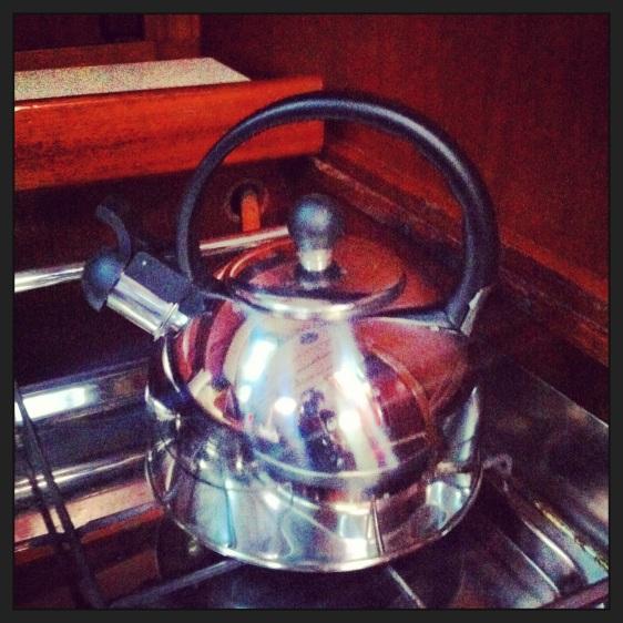 Vår fina nya kettle...