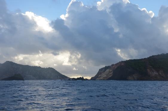 Vacker utsikt, det är något speciellt att uppleva naturen en tidig morgon på havet...