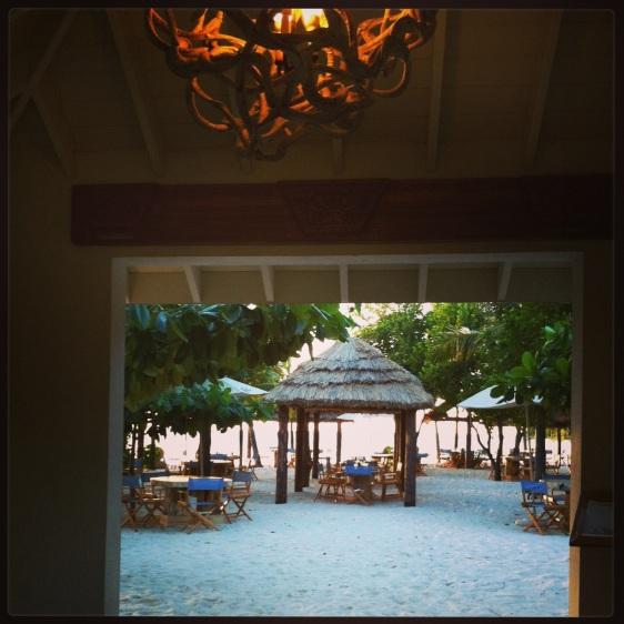 Härlig beachbar/restaurang