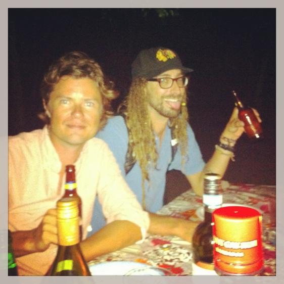 Erik och Phil från Albatross