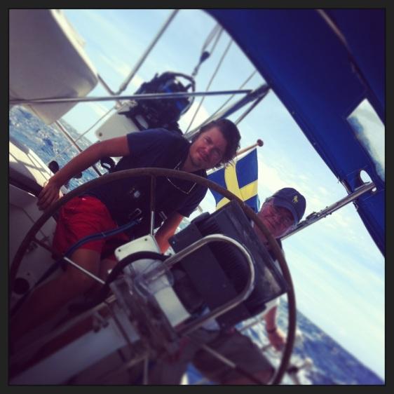 Segling till Green Island