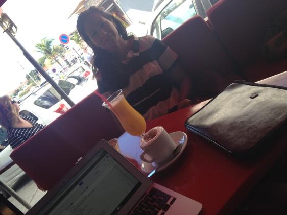 Kaffe på Strandgatan