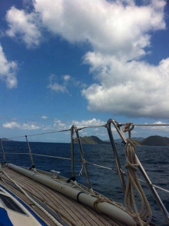 British Virgin Islands - äntligen skärgårdssegling igen!
