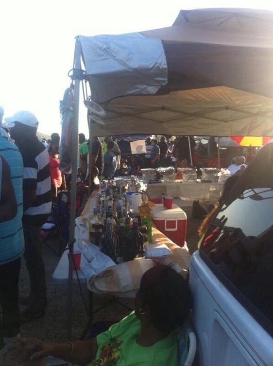 Lokal hamnfest i Charlotte Amalie (St Thomas)