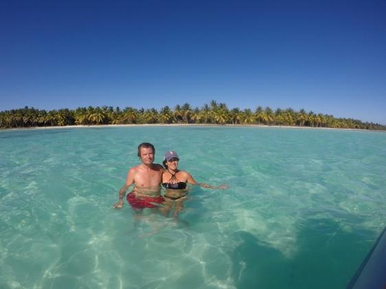 Båttur till Playa Palmina med kristallklart vatten