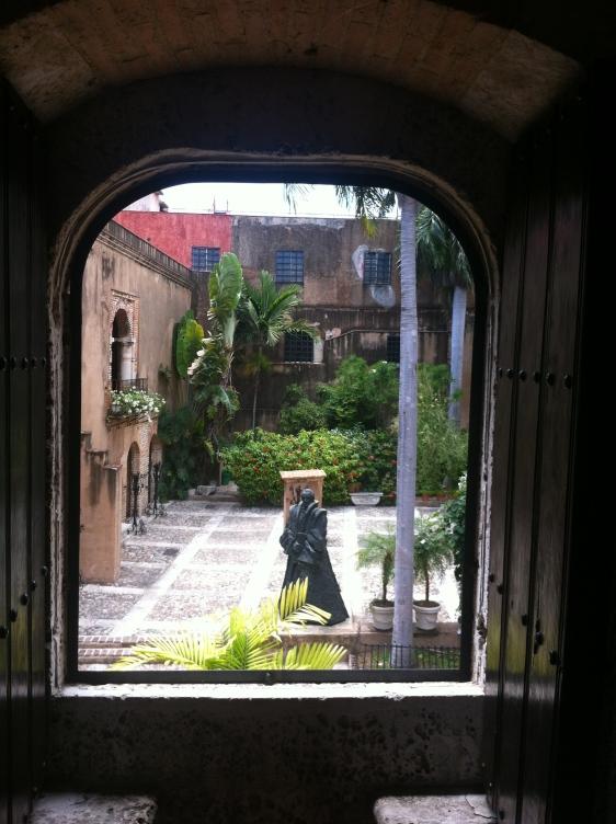 Besök på museet ...som beskrev hela Dominikanska Republikens historia