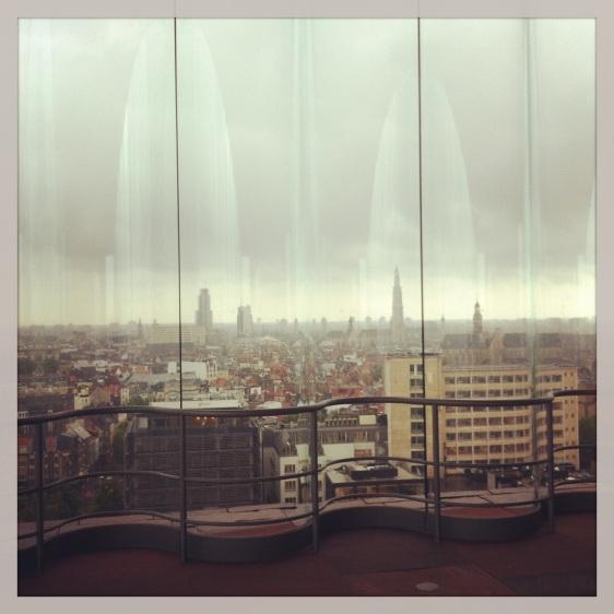 Utsikt över Antwerpen