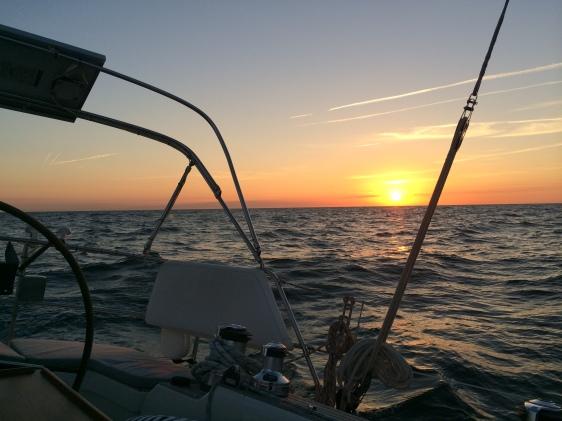 Solnedgång över Östersjön