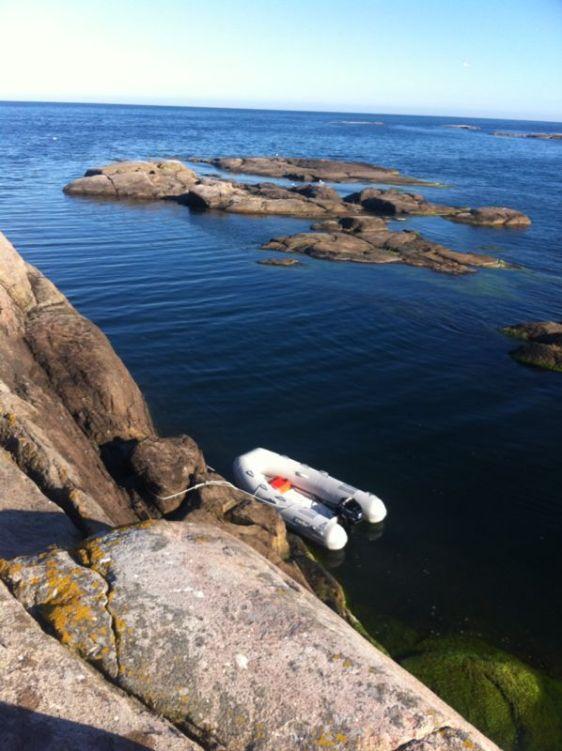 Vår Caribe funkar lika bra vid svenska klippor